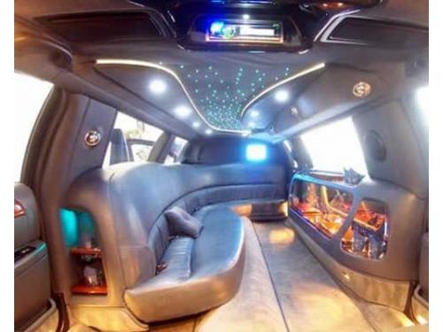 Interni lincoln limousine bianca