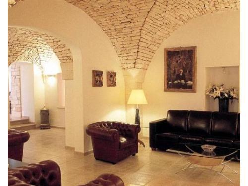Un elegante salotto interno