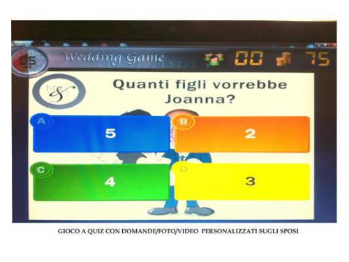 Gioco a quiz multimediale