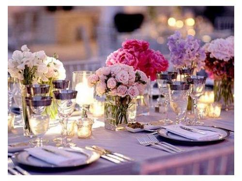 Decorazione floreale tavolo