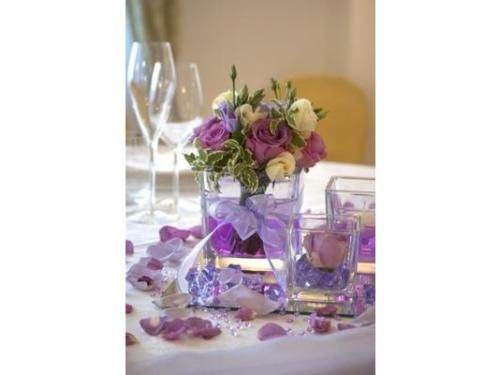 Allestimento floreale per la tavola