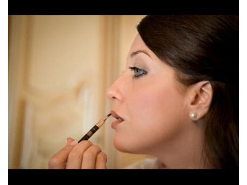 La sposa durante i preparativi