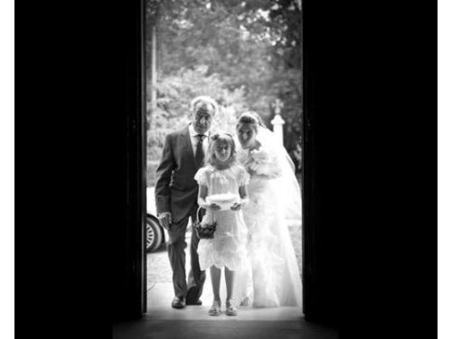 L`entrata in chiesa della sposa