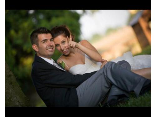Gli sposi felici