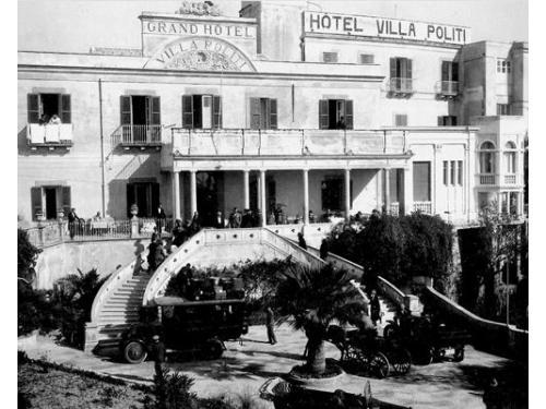 Uno storico edificio del 1861 dove hanno soggiornato principi e personaggi illustri
