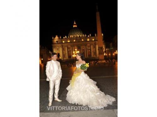..roma la città eterna ..e la sposa più felice..