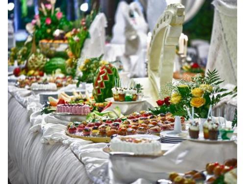 Raffinati buffets per un matrimonio esclusivo