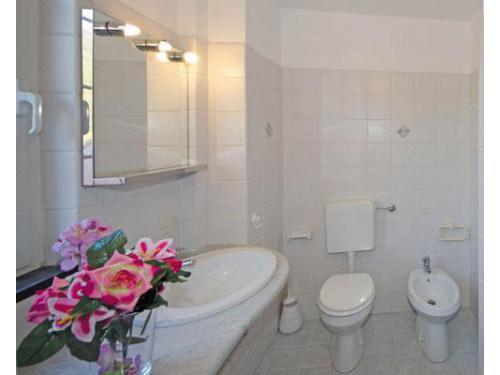 Il bagno in camera