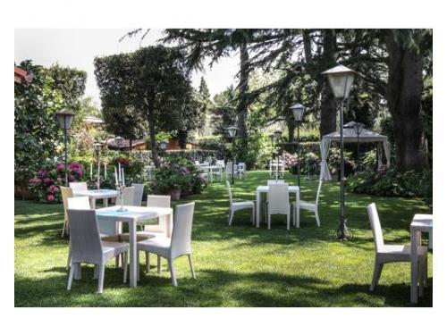 Il giardino della location