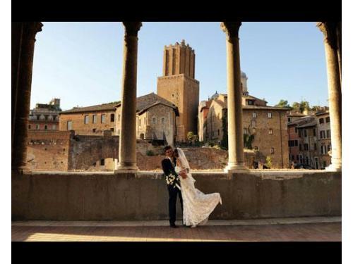Roma, splendida citta' per fotografie eleganti