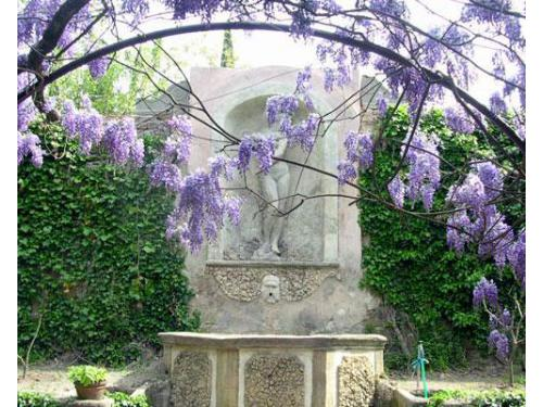 Fontana del giardino interno