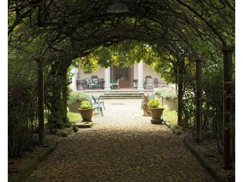 Vialetto del giardino interno