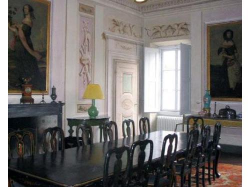 Sala da pranzo della villa