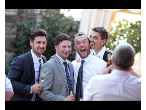 Lo sposo ed i suoi amici
