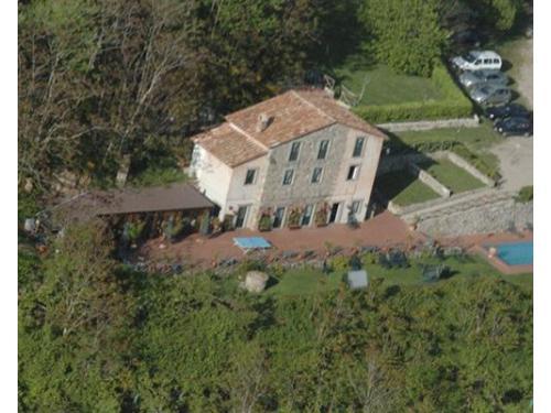 La location vista dall`alto