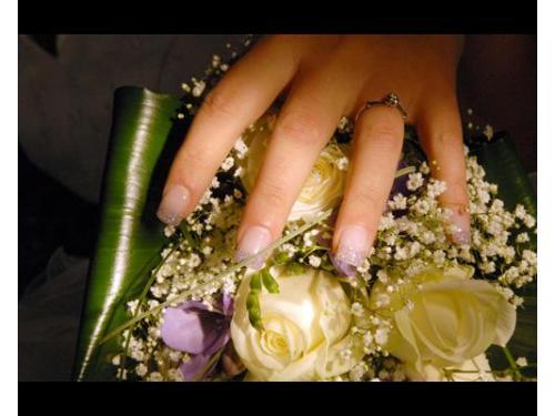 Il bouquet e la sposa