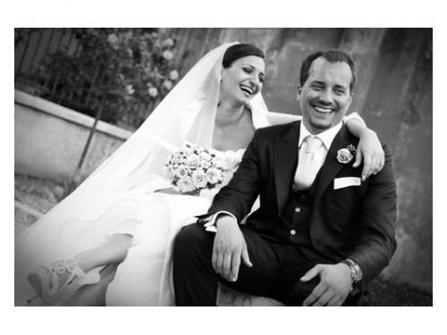 Gli sposi sorridenti