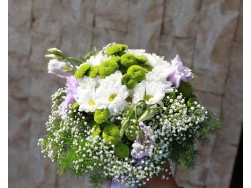 Bouquet rustico e primaverile