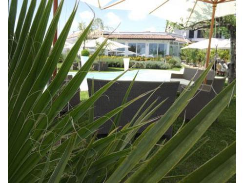 Banchetto in giardino