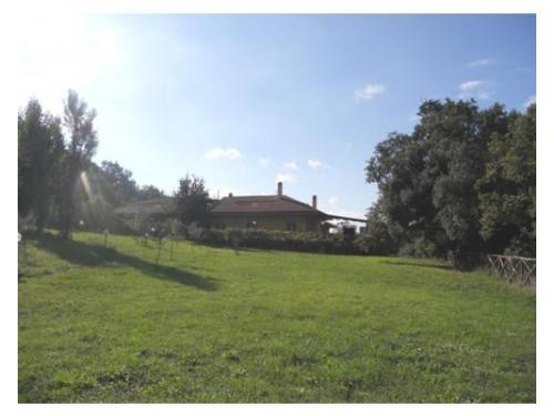 Veduta lato ovest del casale