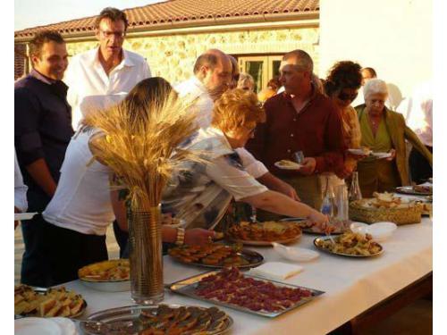Antipasti buffet terrazza