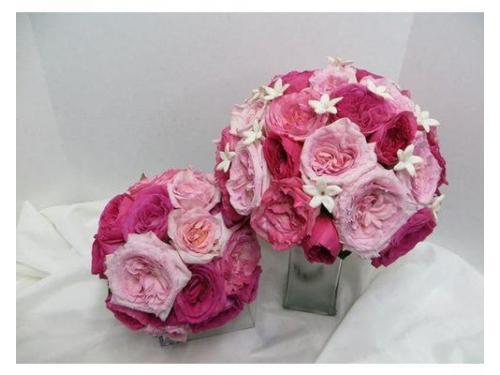 Bouquet rose e peonie e bouquet damigella