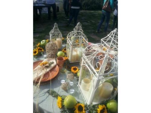 Decorazioni con girasoli