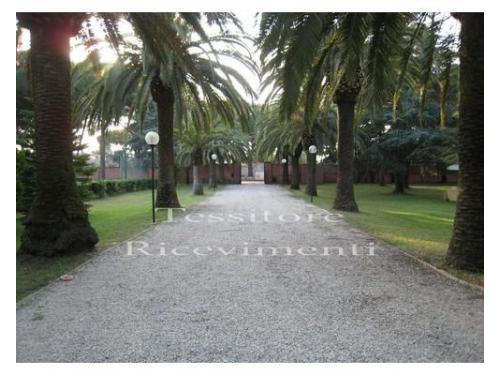 Uno dei giardini di villa marta