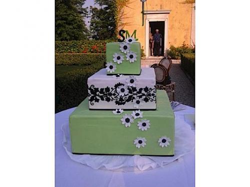 Un originale wedding cake