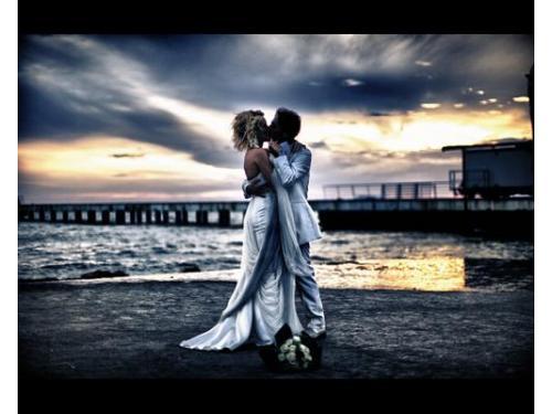 Una foto artistica per il vostro matrimonio