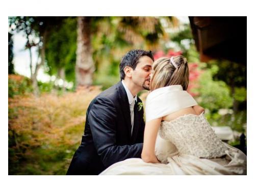 Un romantico bacio