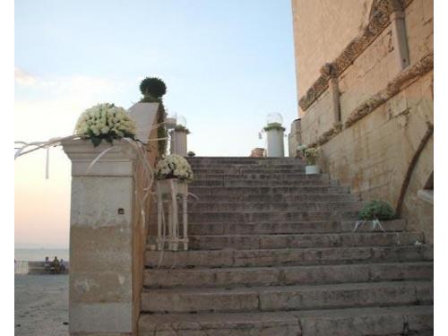 Addobbo scalinata