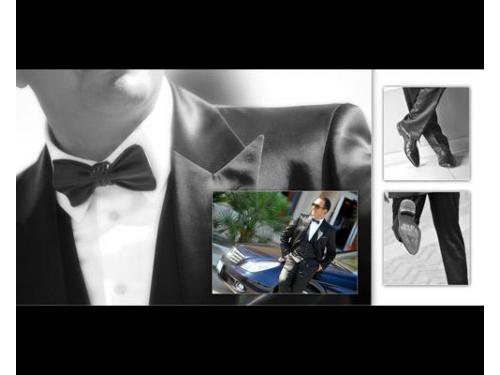 Lo sposo si prepara per la cerimonia
