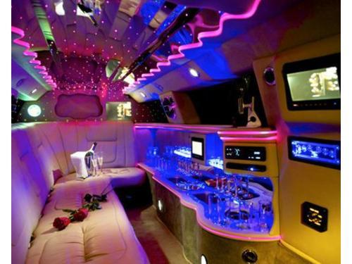 Interni del jaguar limousine