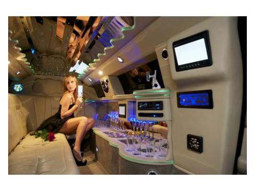 Una soprpresa in limousine
