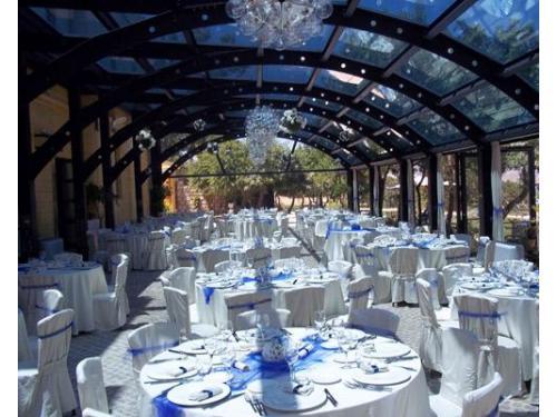 La sala puo` accogliere fino a 300 invitati