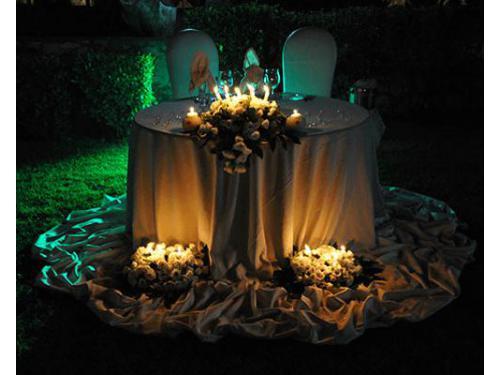 Tavolo per gli sposi
