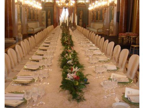 Un elegantissimo tavolo imperiale