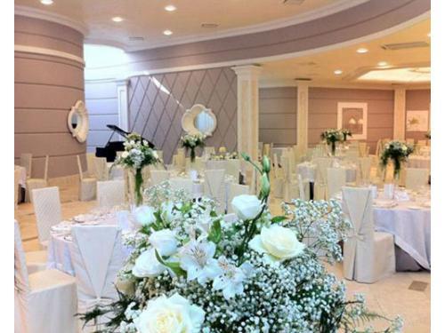 Composizioni floreali sala degli angeli