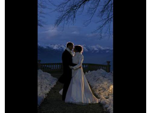 Gli sposi di sera