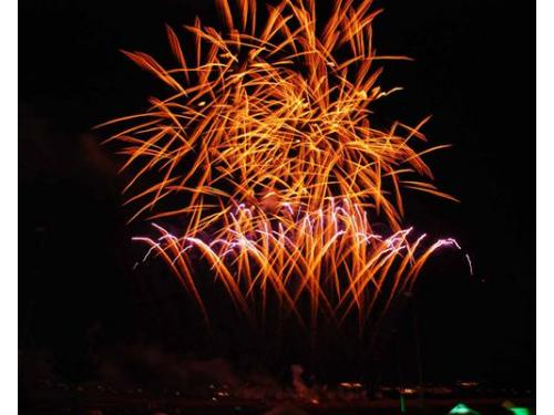 I fuochi d`artificio per il vostro matriomonio
