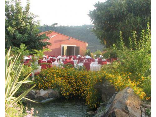 Il laghetto della villa la falconiera
