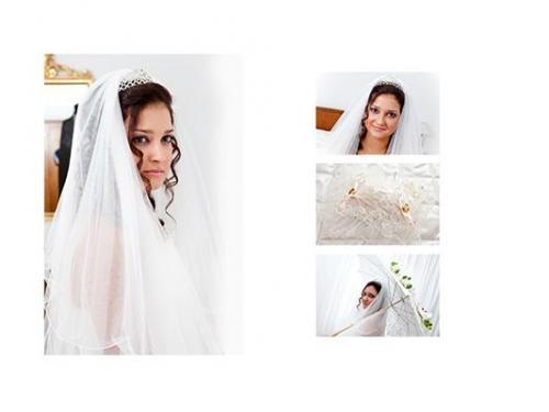 La sposa a casa