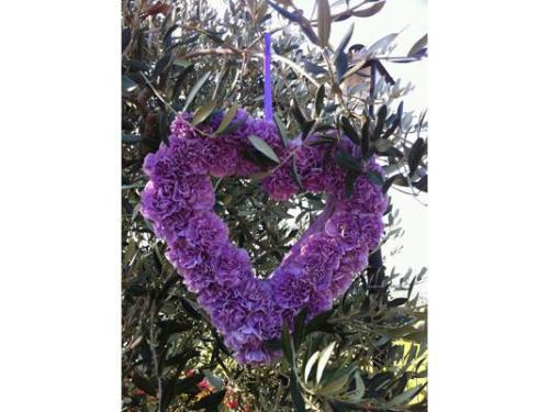 Un cuore di fiori
