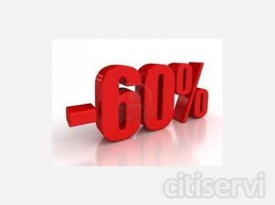 Sconto 60%, Pagamenti Personalizzati!!!